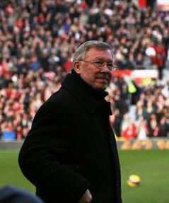 Alex Ferguson, United manager