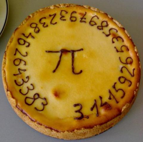 A Pi pie
